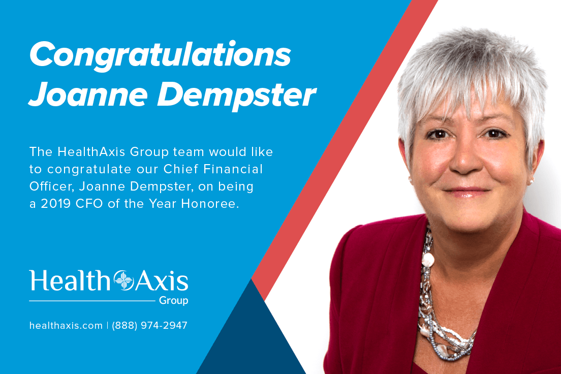 Joanne Dempster, Named A 2019 Tampa Bay Business Journal CFO Of The Year Honoree!