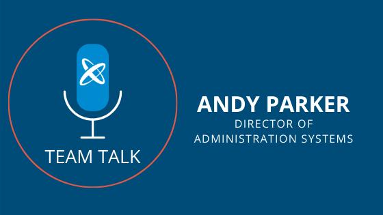 Team Talk Andy Parker