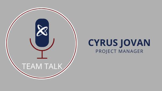 Cyrus Jovan Chats About Project Management